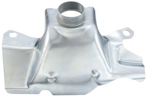1968-73 LeMans Exhaust Manifold Preheater Shroud Standard Exhaust Manifold without Ram Air –