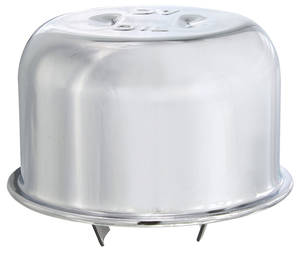 1961-64 LeMans Oil Filler Cap Chrome FB-39; V8 Exc. California