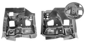 1968-69 LeMans Firewall Body Mounts