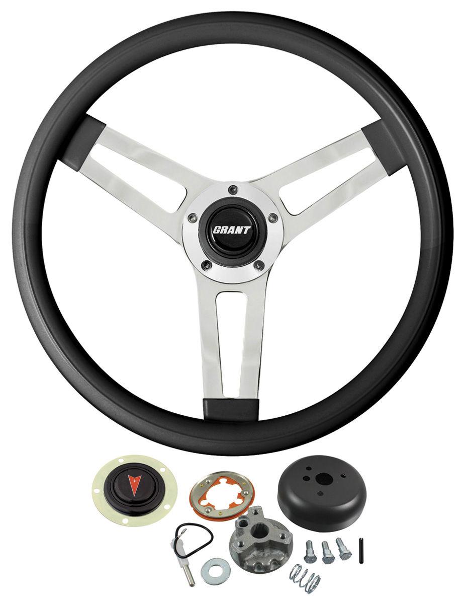 Photo of Steering Wheel, Classic Series White Wheel w/tilt
