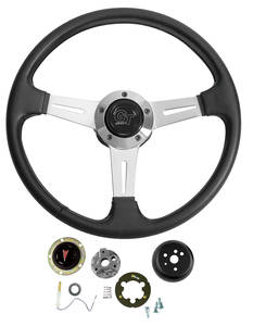 1969-1973 LeMans Steering Wheel, Elite GT, by Grant