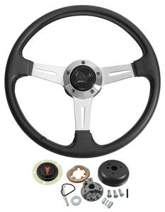 1965-66 Grand Prix Steering Wheel, Elite GT w/Tilt, by Grant