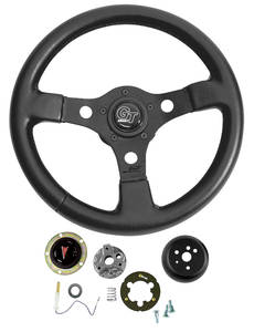 1964-66 Tempest Steering Wheel, Formula GT, by Grant