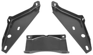 1966-1966 Tempest Bumper Bracket Rear (3-Piece)