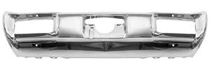 1968-1968 GTO Bumper, Chrome-Plated Rear, GTO, Tempest, LeMans, by RESTOPARTS
