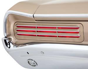 1966 GTO Tail Light Conversion Kit, L.E.D. Standard Style