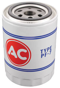 1964-66 LeMans Oil Filter, AC Delco PF-7, V8