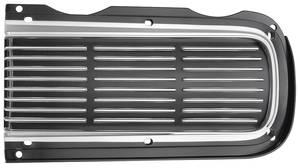 1968-1968 GTO Headlight Door Cover, 1968 Hideaway