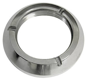 1964-65 GTO Ignition Switch Bezel Ring Nut Stainless Steel