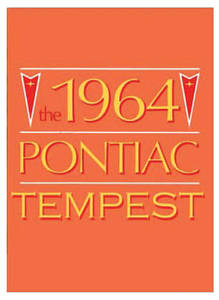 1964 Service Manuals, Pontiac Chassis Tempest