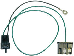 1963-67 GTO Speaker Wire Harness, Dash