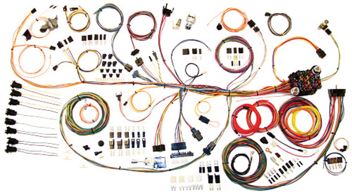 american autowire 1964 67 gto wiring kit classic update. Black Bedroom Furniture Sets. Home Design Ideas