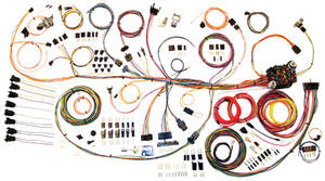 1964-1967 GTO Wiring Kit, Classic Update, by American Autowire