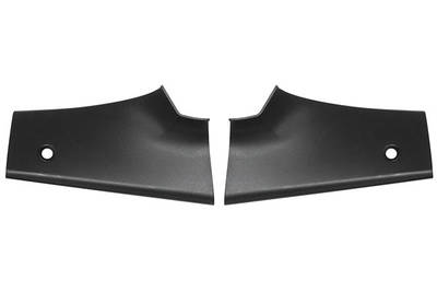 1968-72 LeMans Seat Package Tray End Trim Black