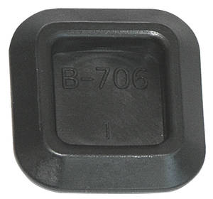 1971-72 GTO Firewall Fill Plug Late