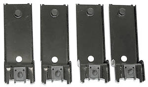 1970-1970 GTO Grille Mounting Brackets, 1970 GTO Lower, 4-Piece