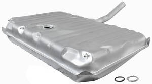 1970 GTO Fuel Tank Zinc-Plated w/EEC, 3 Vent, 17-Gallon