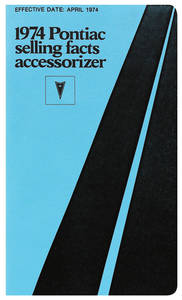 1974-1974 Grand Prix Accessorizer Booklet