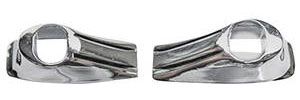 GTO Dash Grab Bar Handle Bezels, 1966-67