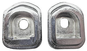 LeMans Dash Grab Bar Handle Bezels, 1966-67