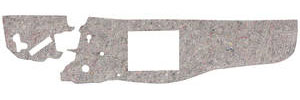 1961-63 Firewall Insulation Pad Tempest