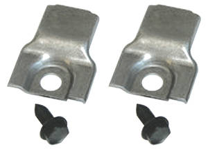 LeMans Radiator Core Support Brackets, 1969-72