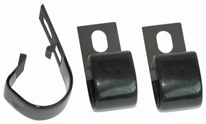 1968-72 LeMans Wire Harness Clips, Underdash
