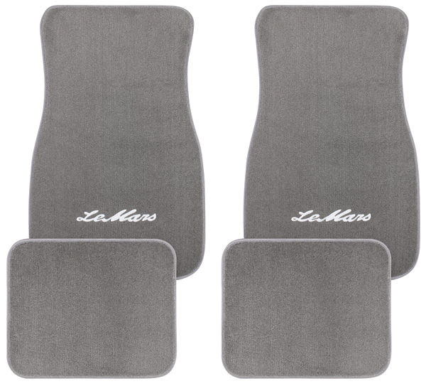 "Photo of Floor Mats, Carpet Matched Essex ""LeMans"" script"