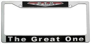 1964-73 GTO Emblem License Plate Frame