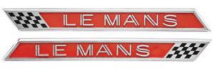 Fender Emblems, 1963 LeMans (Front)