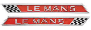 Fender Emblems, 1963 LeMans (Front)