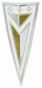 LeMans Quarter Panel Emblem, 1963 Arrowhead