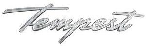 1961-1961 Tempest Fender Emblem, 1961 Tempest (Front)