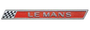 """1962-1962 LeMans Tail Panel Emblem, 1962 """"LEMANS"""""""