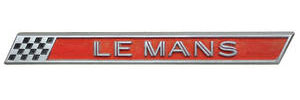 "Tail Panel Emblem, 1962 ""LEMANS"""