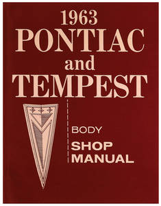 1963 Bonneville Fisher Body Manuals
