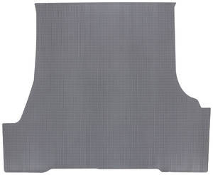 1961-63 Trunk Mat 1-Piece, Tempest 2-/4-dr. Sedan (Gray Rubber, Houndstooth)