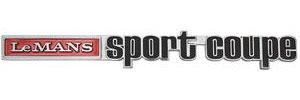 """1973-1973 LeMans Trunk Emblem, 1973 """"LeMans Sport Coupe"""""""
