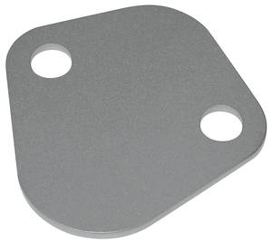 1964-1977 Catalina/Full Size Fuel Pump Block-Off Accessory Plate, V8