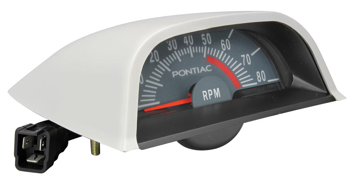 1968 Hood Tachometer Gto  5100 Redline   Opgi Com