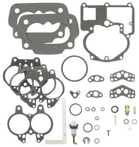 1966 Bonneville Carburetor Rebuild Kit, Tri-Power Center Carburetor