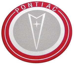 """1964 Bonneville Steering Wheel Horn Button Emblem 2-3/4"""" Diameter Replacement Decal"""