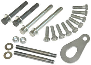 1969-1976 Bonneville Bolts, Timing Cover Kit 24 Pc.