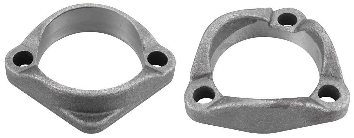 Exhaust Manifold Flanges, H O  2-hole & 3-hole