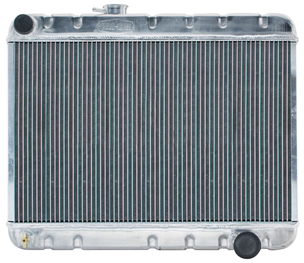 "Photo of Tempest Radiators, Aluminum 17-1/2"" X 25-1/8"" MT, w/AC, driver inlet"