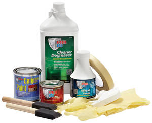1959-77 Grand Prix Brake Caliper Paint Kit