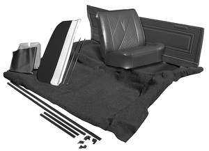 1972-1972 LeMans Interior Kit, Stage II, Coupe