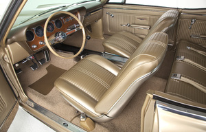 1972-1972 LeMans Interior Kit, Stage IV, Convertible w/Plastic Window
