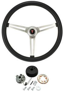 1964-66 Catalina Steering Wheel, Classic Pontiac w/o Tilt, by Grant