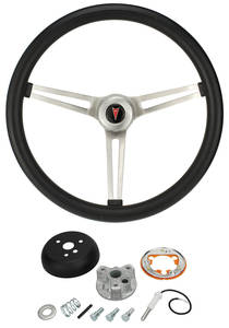 1965-66 Grand Prix Steering Wheel, Classic Pontiac w/Tilt